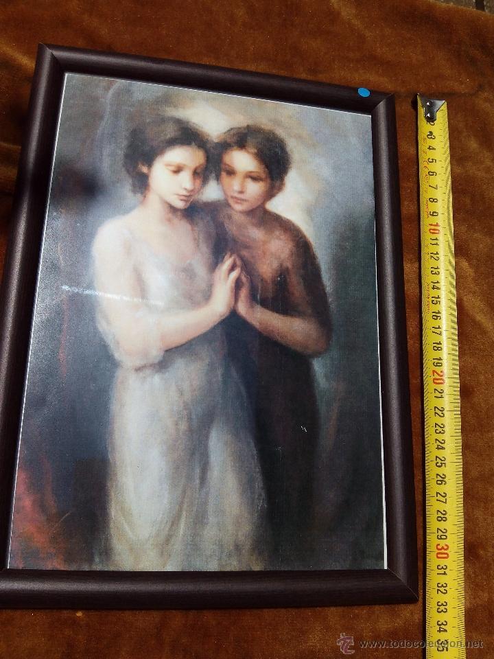 Arte: Cuadro impreso de dos damas. - Foto 3 - 50430491