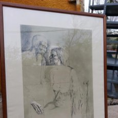 Arte: LITOGRAFIA DE MONTSERRAT GUDIOL. Lote 50663411