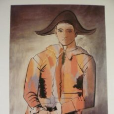 Arte: LITOGRAFIA DE PABLO PICASSO ARLEQUIN MAESTRI DE LA PEINTURE Nº 163. Lote 51554001
