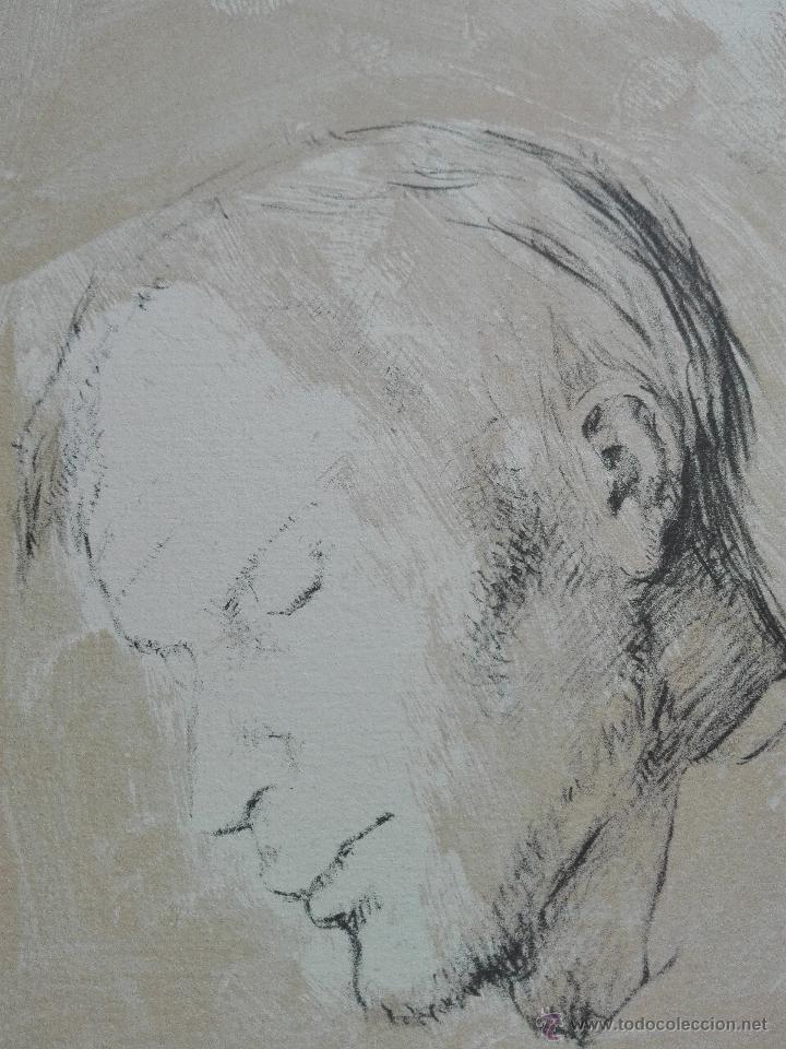Arte: PRECIOSA LITOGRAFIA TITULADA DUES FIGURES A LESPAI - MONSERRAT GUDIOL - EDICION LIMITADA - ART62 - - Foto 7 - 51588366