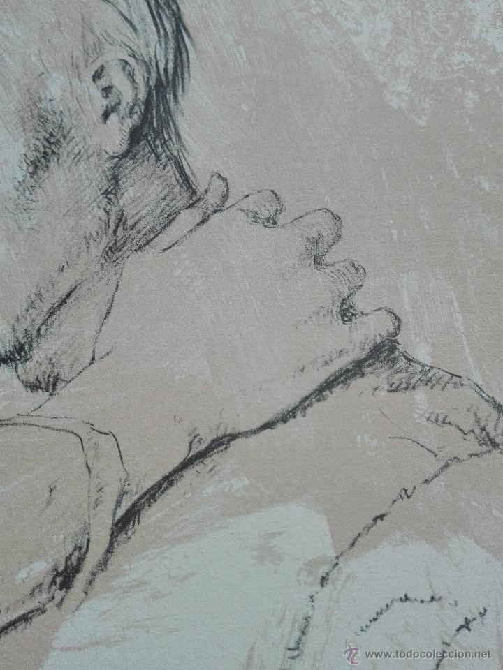 Arte: PRECIOSA LITOGRAFIA TITULADA DUES FIGURES A LESPAI - MONSERRAT GUDIOL - EDICION LIMITADA - ART62 - - Foto 8 - 51588366