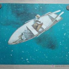 Art: GRAN LITOGRAFIA TITULADA THE BIG FISH - JULIO LARRAZ - EDICION LIMITADA DE SOLO 10 EJEMP. - ART62 - . Lote 51588505