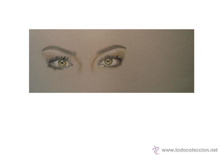 Arte: Carpeta con 3 grabados (tipo Litografía). -MIRADAS-. Autor: M. Alfaro - Foto 3 - 152724137