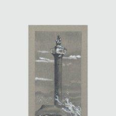 Arte: CARPETA CON 5 GRABADOS (TIPO LITOGRAFÍA). -FAROS DEL MUNDO-. AUTOR: MIGUEL ANGEL ALFARO REY. Lote 179345441