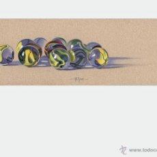 Arte: COLECCIÓN LITOGRAFÍAS SERIE CANICAS . OFERTÓN. AUTOR: MIGUEL ALFARO. Lote 189671471