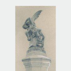 Arte: LITOGRAFÍA -ÁNGEL CAÍDO-. AUTOR: MIGUEL ANGEL ALFARO. Lote 218712121