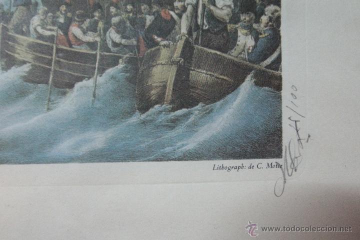 Arte: LITOGRAFIA DE C. MOTTE, FIRMADA Y NUMERADA, 25/100 - Foto 3 - 51998770