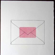 Arte: JOAN BROSSA - DARRERE LA CARTA (SERIGRAFIA FACSÍMIL). Lote 161966832