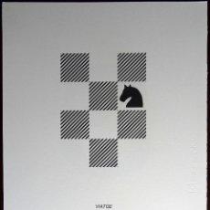 Arte: JOAN BROSSA - VIATGE - (SERIGRAFIA FACSÍMIL). Lote 52883964