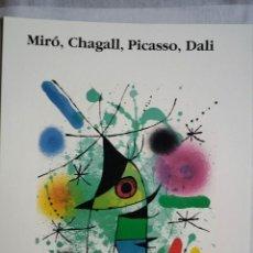 Arte: MIRO / CARTEL LITOGRÁFICO GALERÍA ARTINFORM / 1986. Lote 52970123