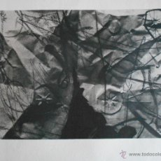 Arte: LITOGRAFIA ORIGINAL DE ANTONI CLAVÉ NUMERADA Y FIRMADA A MANO. Lote 52973363