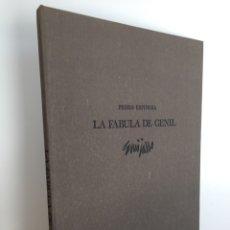 Arte: PEDRO ESPINOSA. LA FÁBULA DE GENIL. 11 LITOGRAFÍAS DE ANTONIO GUIJARRO. EN PERFECTO ESTADO. FIRMADAS. Lote 47622244