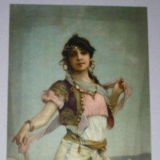 Arte: LITOGRAFIA SUIZA CON ESCENA DE ODELISCA. SERIE 148. Nº 1. CIRCA 1910. STEHLI FRÈRES.. Lote 53221364