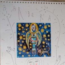 Arte: LITOGRAFIA RETOCADA A MANO FIRMADA JUAN BARBERA ZAMORA. Lote 53396697