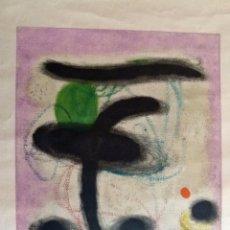 Arte: LITOGRAFIA DE JOAN MIRO FEMME ASISSE 1959. Lote 53578540