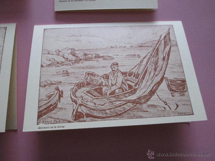 Arte: LOTE 4 LITOGRAFÍAS-FORMATO POSTAL-JOSÉ SEIJO RUBIO-(PINTOR GALLEGO)-SOBRES-VER FOTOS. - Foto 6 - 53952288