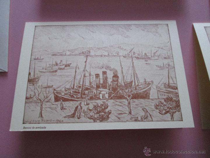 Arte: LOTE 4 LITOGRAFÍAS-FORMATO POSTAL-JOSÉ SEIJO RUBIO-(PINTOR GALLEGO)-SOBRES-VER FOTOS. - Foto 8 - 53952288
