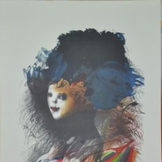 Arte: MODEST CUIXART LITOGRAFIA ORIGINAL DE LA SERIE ARCALIA DE 1982 , FIRMADA Y CON JUSTIFICACION. Lote 53957837