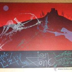 Arte: JOAN PONC (BARCELONA 1927-FRANCIA 1984) CARTEL LITOGRÁFICO COLORES 56X76 EXPO CASTILLO CASTELLNOU 78. Lote 149726589