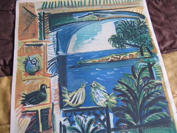 Arte: GRAN LITOGRAFIA DE PABLO PICASSO Côte d´azur 1962 henri deschamps - Foto 2 - 54422721