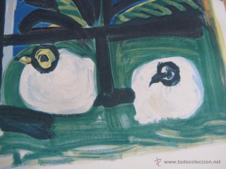 Arte: GRAN LITOGRAFIA DE PABLO PICASSO Côte d´azur 1962 henri deschamps - Foto 3 - 54422721