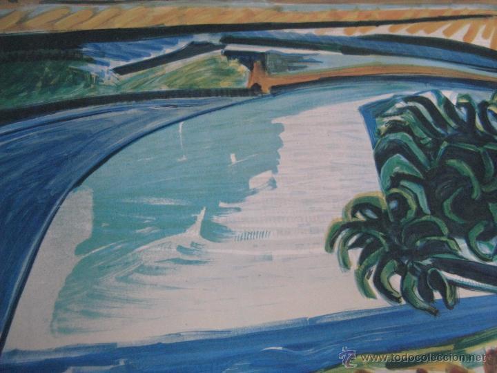 Arte: GRAN LITOGRAFIA DE PABLO PICASSO Côte d´azur 1962 henri deschamps - Foto 4 - 54422721