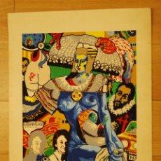 Arte: LITOGRAFIA DEL PINTOR MENRA AÑO 70. Lote 54953721