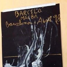Arte: MIQUEL BARCELÓ - MACBA - 1998. Lote 55043936