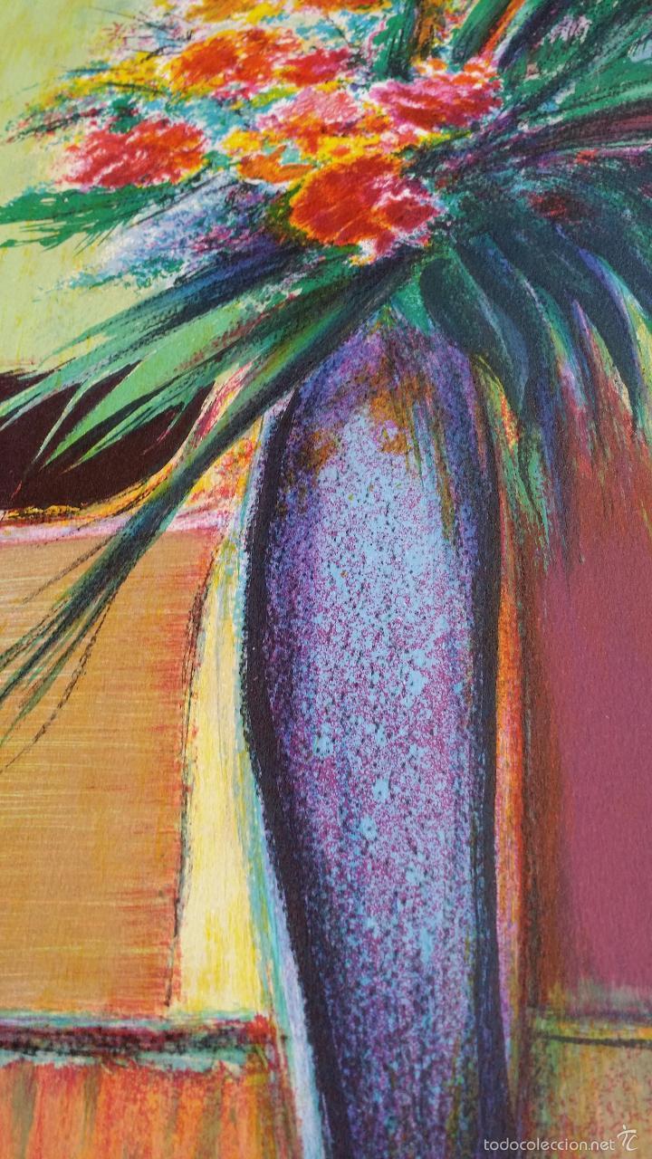 Arte: TORRES: Fleurs / litografía firmada y numerada a mano - Foto 4 - 55262534