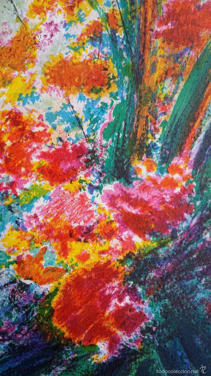 Arte: TORRES: Fleurs / litografía firmada y numerada a mano - Foto 5 - 55262534