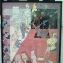 Arte: MIGUEL CALATAYUD GRAN CARTEL EXPOSICION SEVILLA 1986 68X50 CMS . Lote 55332287