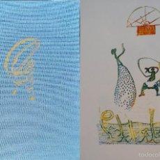 Arte: MAX ERNST/ LEWIS CARROLL / ALICIA EN EL PAÍS DE LAS MARAVILLAS,1970 / 36 LITOGRAFIAS. Lote 55347598