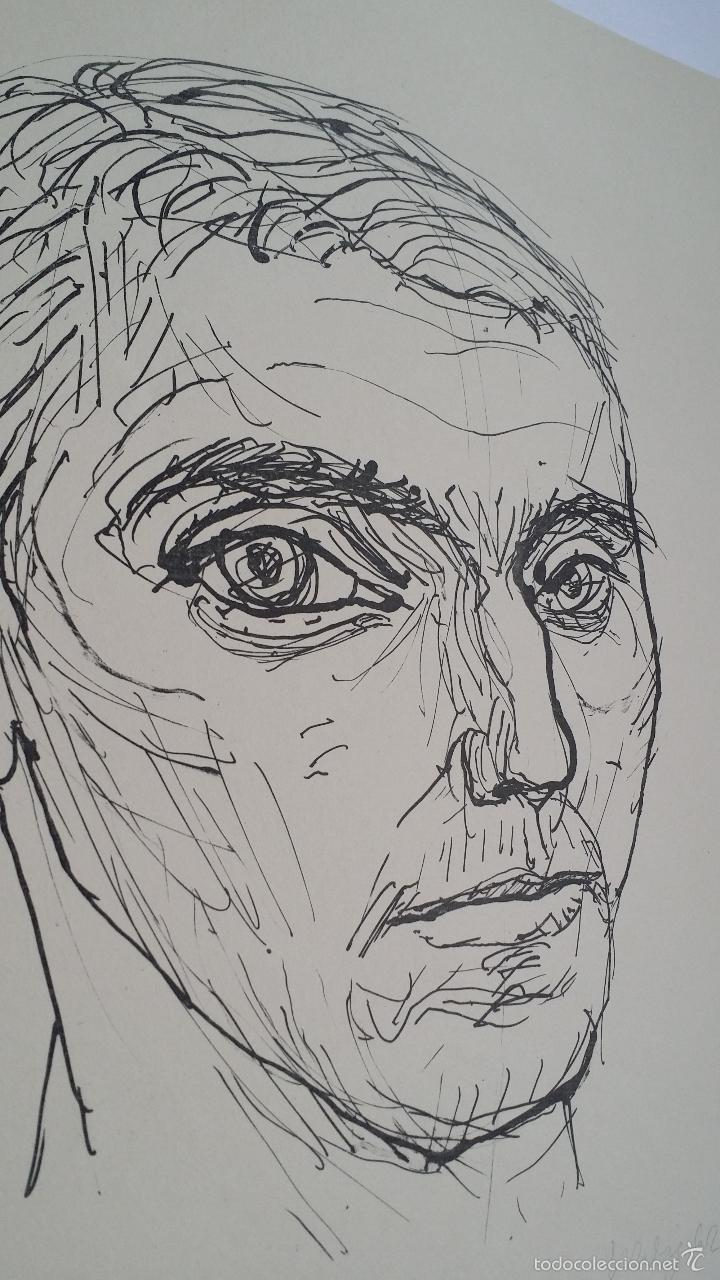 Arte: MAX UHLIG: Retrato, 1962 / litografía justificada y firmada a lápiz - Foto 8 - 55542104