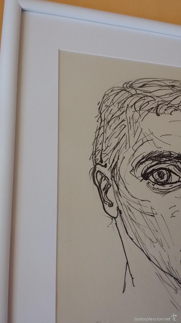 Arte: MAX UHLIG: Retrato, 1962 / litografía justificada y firmada a lápiz - Foto 10 - 55542104