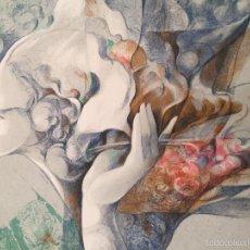 Arte: JOSEP BAQUES LITOGRAFÍA FIRMADA Y NUMERADA PA XIV/XXV. Lote 55999116