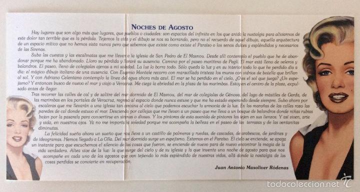Arte: Envío 4€. litografía postal Y TRÍPTICO, alegoría CASTELL DE LOLLA realizadas por ANTONIO DE FELIPE - Foto 5 - 56161689