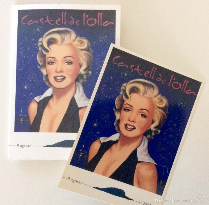 Arte: Envío 4€. litografía postal Y TRÍPTICO, alegoría CASTELL DE LOLLA realizadas por ANTONIO DE FELIPE - Foto 6 - 56161689