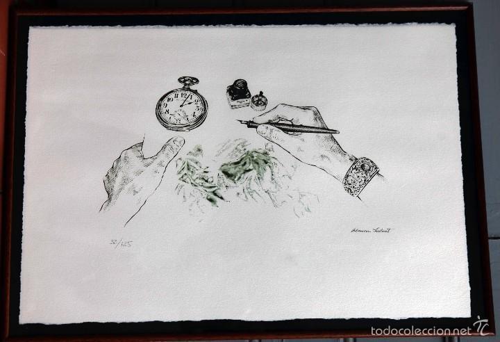 LITOGRAFÍA DE BLANCA SALVAT, FIRMADA Y NUMERADA 32/125 (Arte - Litografías)