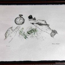 Arte: LITOGRAFÍA DE BLANCA SALVAT, FIRMADA Y NUMERADA 32/125. Lote 56172586