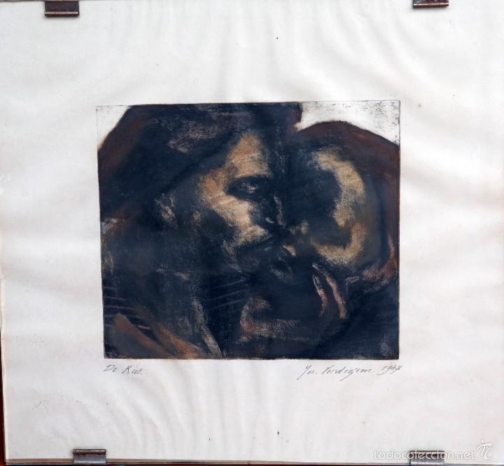 JOSEPH VERDEGEM, 1947, DE KUS (Arte - Litografías)