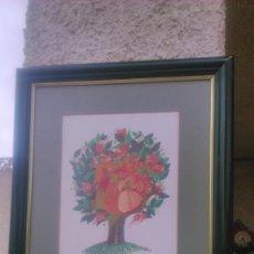 Arte: PRECIOSA LITOGRAFIA FIRMADA WESTH,ENMARCADA.. Lote 56699243