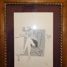 Arte: DOS LITOGRAFÍAS FIRMADAS Y NÚMERADAS POR PI (JUAN C. GARCÍA DEL BUSTO ARREGUI). Lote 56811687