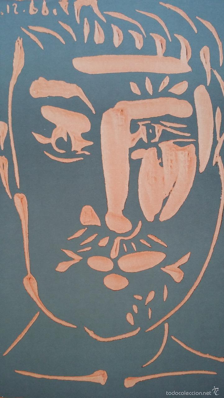 Arte: PABLO PICASSO, Ceramics, cartel de exposición en Florida, 1977 - Foto 3 - 56898326