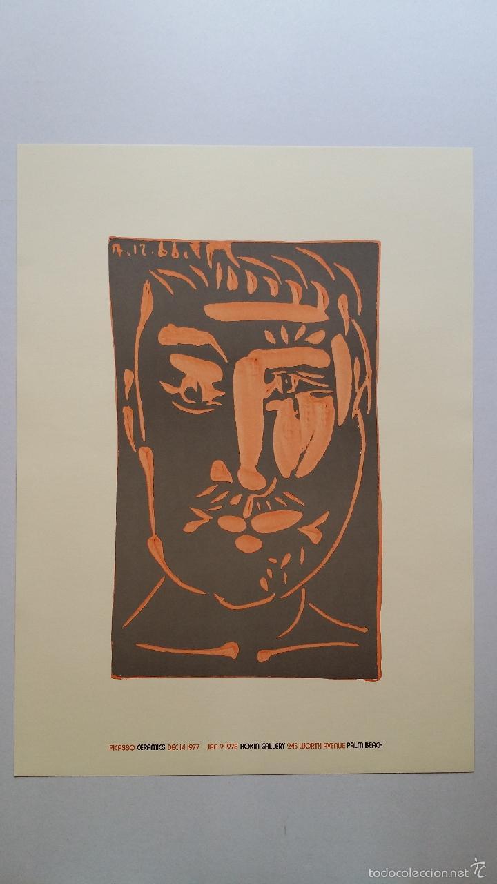Arte: PABLO PICASSO, Ceramics, cartel de exposición en Florida, 1977 - Foto 7 - 56898326