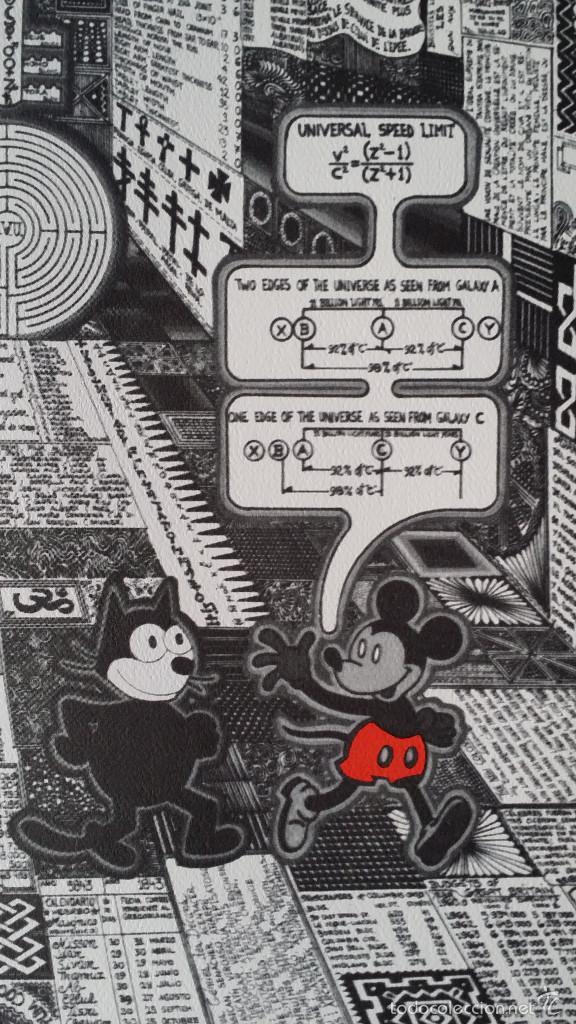 PEDRO FRIEDEBERG: CARTEL MICKEY AND FELIX, PALM BEACH, 1974 (Arte - Litografías)