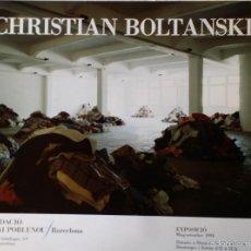 Arte: CHRISTIAN BOLTANSKI: CARTEL EXPOSICIÓN 1994. Lote 56972178