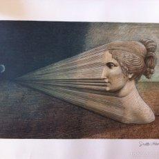 Arte: LITOGRAFÍA LA DIMENSIÓN DEL SUEÑO.J.M.SUBIRACHS EDICIÓN LIMITADA. Lote 56997526