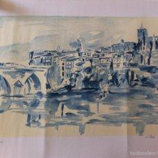 Arte: LITOGRAFÍA FRANCESC SILLUE. Lote 56997570