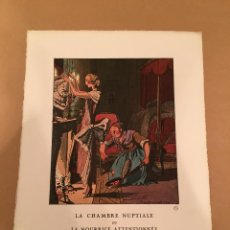 Arte: 1921 - LITOGRAFIA ORIGINAL DE PIERRE BRISSAUD (1885-1964) - BON TON. Lote 57091907