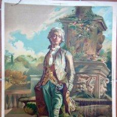Arte: ANTIGUA LITOGRAFÍA: EL CONDESITO. FORTUNY M (DISEÑO), ALANDI G (COPIA) ROCABERT J (LITÓGRAFO) 42X59 . Lote 57280446